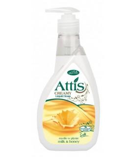 GoldDrop Attis Liquid soap milk & honey 400ml / 14oz