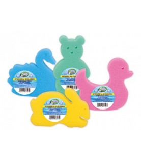 Bath sponges for kids ( Animals)