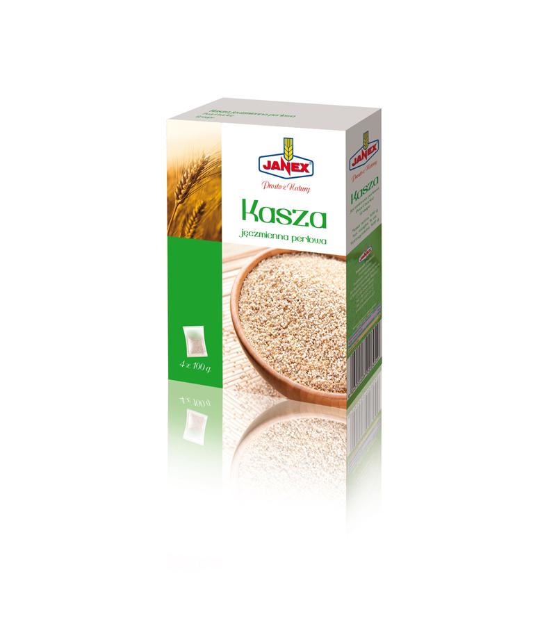 Fine Barley Groats 4x100g (4x3.5oz)