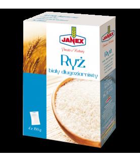Janex Ryż Biały Długoziarnisty 4x100g (4x3.5oz)
