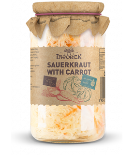 Sauerkraut with Carrot 900ml / 30oz