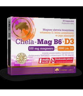 Olimp Labs Chela Mag B6 + D3 30 kapsulek