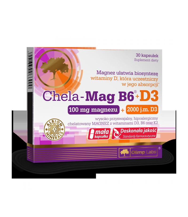 Olimp Labs Chela Mag B6 + D3  30 capsules