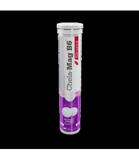 Olimp Labs Chela Mag B6 Skurcz 20 tabletek musujacych o smaku grejfrutowym