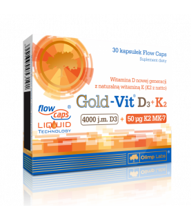 Olimp Labs Gold-Vit D3+K2 30 kapsulek