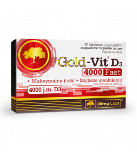 Olimp Labs Gold-Vit D3 4000 FAST 30 tabletek