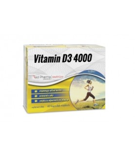 RedPharma Vitamin D3 4000