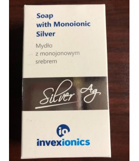 Invexremedis Soap with monoionic Silver 100g / 3.5oz