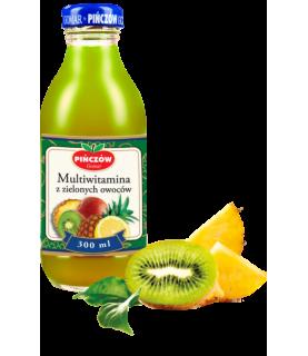 Pinczow Green Fruit Multivitamin Drink 300 ml / 10oz