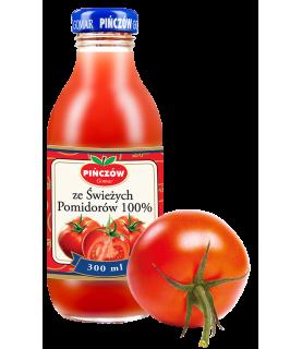 Pinczow Sok ze swiezych pomidorow 100% 300ml / 10oz
