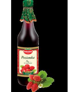 Pinczow Wild Strawberry Syrup 500ml / 17oz