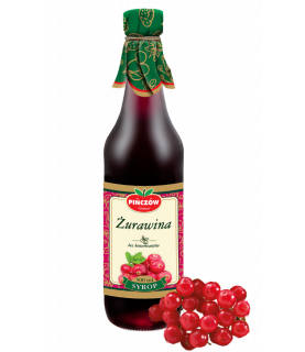 Pinczow Cranberry Syrup 500 ml / 17oz