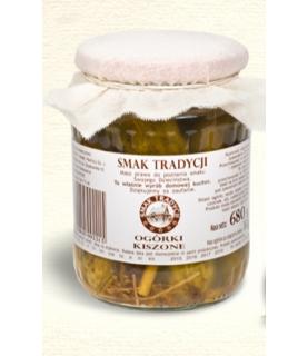 Radosz - Smak Tradycji Radosz Polish Cucumbers in Brine 640 g / 22oz