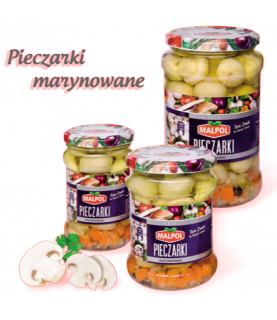 Malpol Marinated Mushrooms 280 g / 10oz