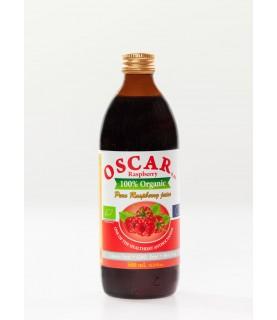 OSCAR a.m Organic Raspberry Juice 500 ml / 17oz
