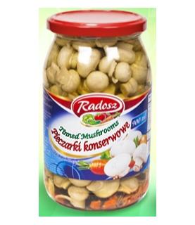 Radosz - Smak Tradycji Pieczarki Marynowane 900ml / 30oz