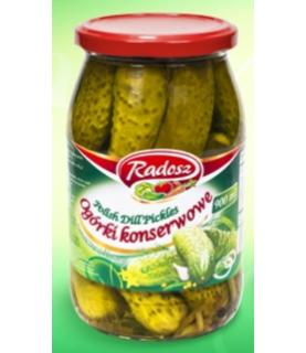 Radosz - Smak Tradycji Polish Dill Pickles 900ml / 30oz