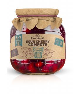 Dworek Sour Cherry Compote 720ml / 24oz