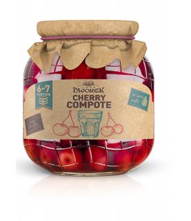 Dworek Cherry Compote 720ml / 24oz