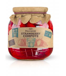 Dworek Strawberry Compote 720ml / 24oz