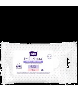 Bella Chusteczki do higieny intymnej Bella Hydronatural ( 20 chusteczek nawilzanych)