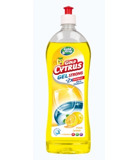 GoldDrop Gold Cytrus Lemon Dish gel enriched with vitamins 700ml / 23oz