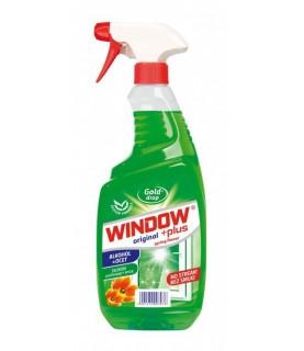 GoldDrop Window Plus Alkohol+Ocet Płyn do mycia szyb i luster 750ml / 25oz